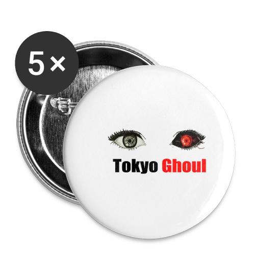 Tokyo Ghoul - Paquete de 5 chapas pequeñas (25 mm)