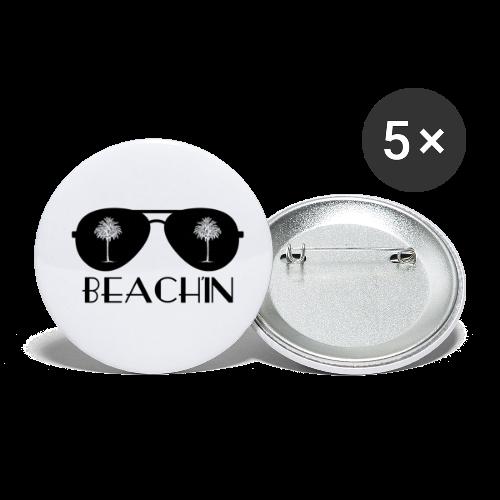 BEACH'IN - Beachlife - Buttons klein 25 mm (5er Pack)