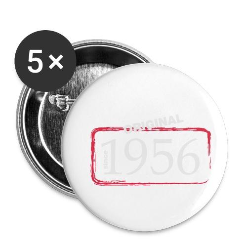 1956 - Buttons klein 25 mm (5er Pack)