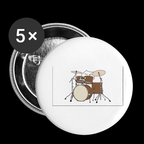 bongo cattttttttttt - Buttons small 1''/25 mm (5-pack)