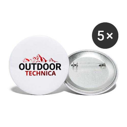 Outdoor Technica - Buttons small 1''/25 mm (5-pack)