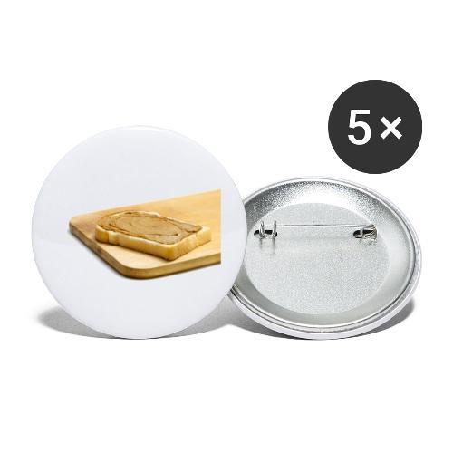 Pindaplankje Shirt - Buttons klein 25 mm (5-pack)