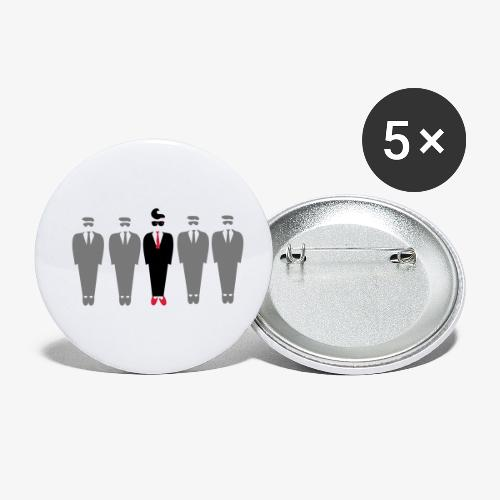 Dare to be different design by Patjila - Buttons small 1''/25 mm (5-pack)