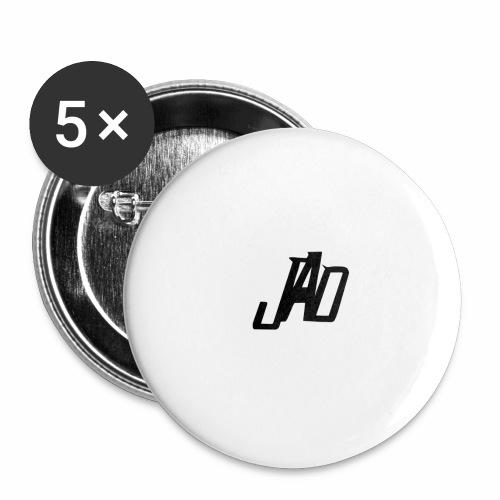 Jenna Adler Designs - Små knappar 25 mm (5-pack)