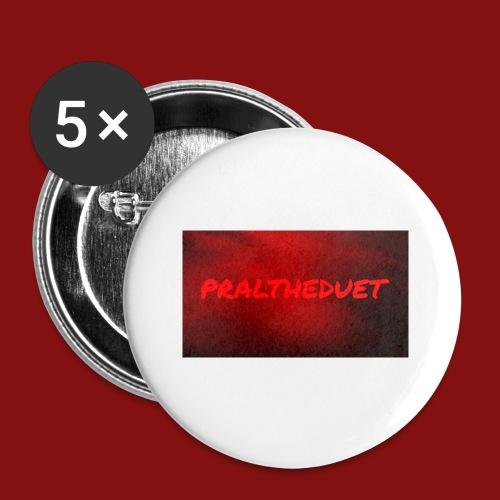 My Post 6 - Små knappar 25 mm (5-pack)