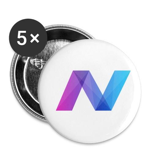 Navcoin (NAV) - Buttons klein 25 mm (5er Pack)