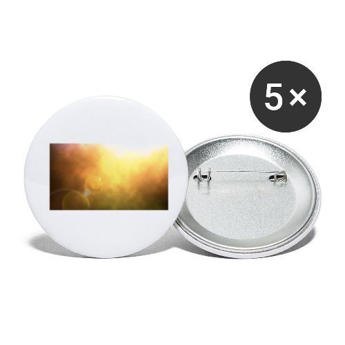 Sunshine view - Buttons klein 25 mm (5er Pack)