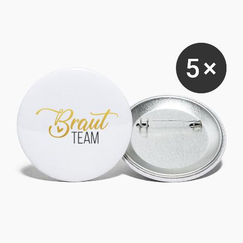 Bride team - Buttons small 1''/25 mm (5-pack)