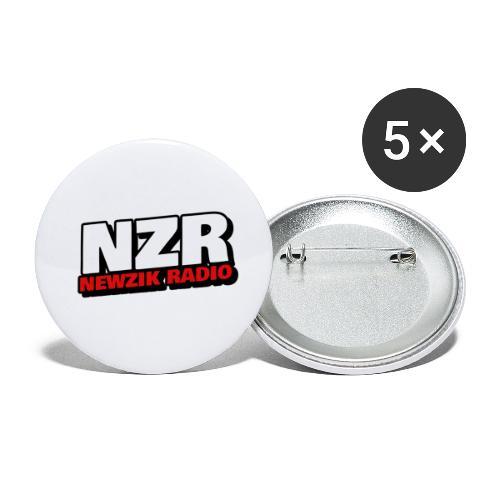 NZR - Lot de 5 petits badges (25 mm)