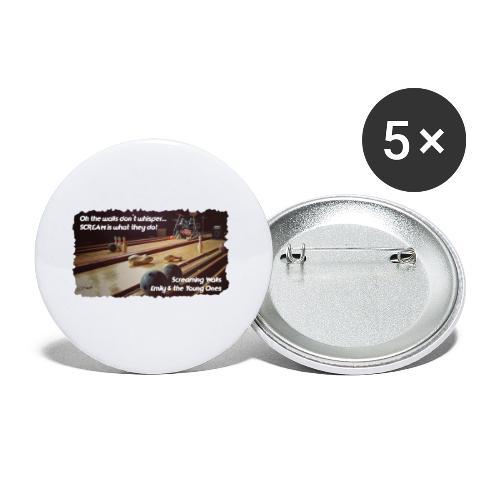 Shirt Screaming Walls - Buttons klein 25 mm (5-pack)