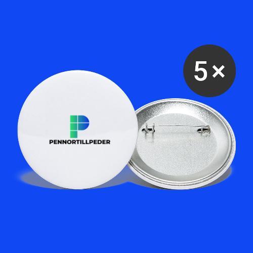 PennorTillPeder - Små knappar 25 mm (5-pack)