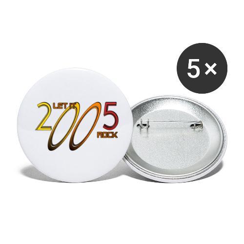 Let it Rock 2005 - Buttons klein 25 mm (5er Pack)