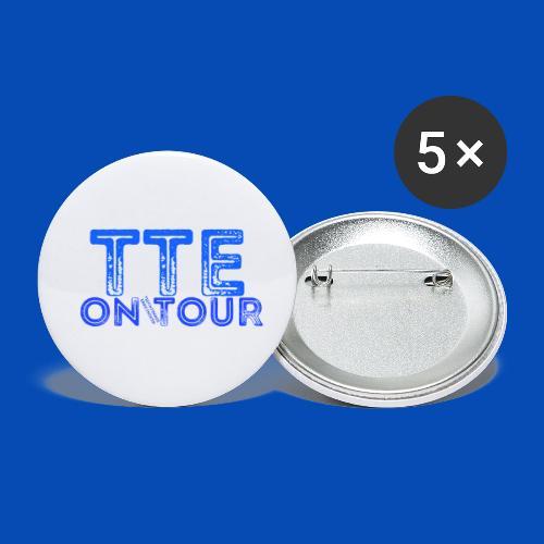 TTE ON TOUR - Buttons klein 25 mm (5er Pack)