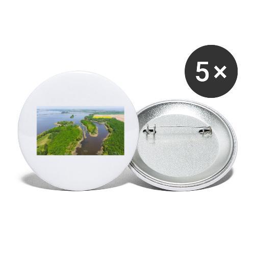 Am Kis Balaton [2] - Buttons klein 25 mm (5er Pack)