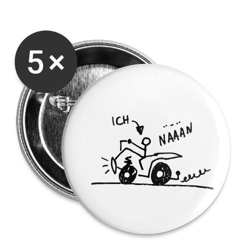 Quad näään - Buttons klein 25 mm (5er Pack)