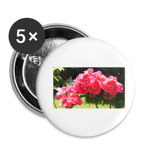 floral - Buttons small 1''/25 mm (5-pack)