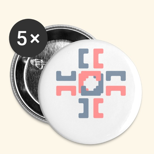 Hoa hoody v2 - Buttons small 1''/25 mm (5-pack)