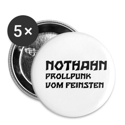 vorne - Buttons klein 25 mm (5er Pack)