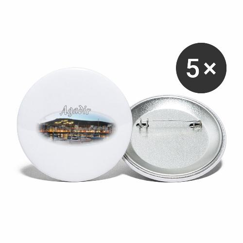 Agadir, Morocco - Buttons small 1''/25 mm (5-pack)