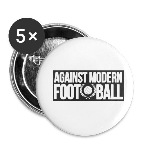 #AgainstModernFootball - Små knappar 25 mm (5-pack)