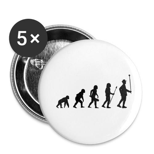 Stabführer Evolution - Buttons klein 25 mm (5er Pack)