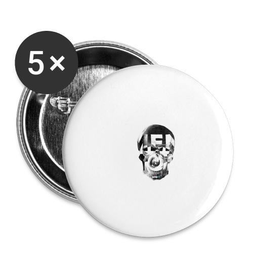 54_Memento ri - Buttons klein 25 mm (5er Pack)