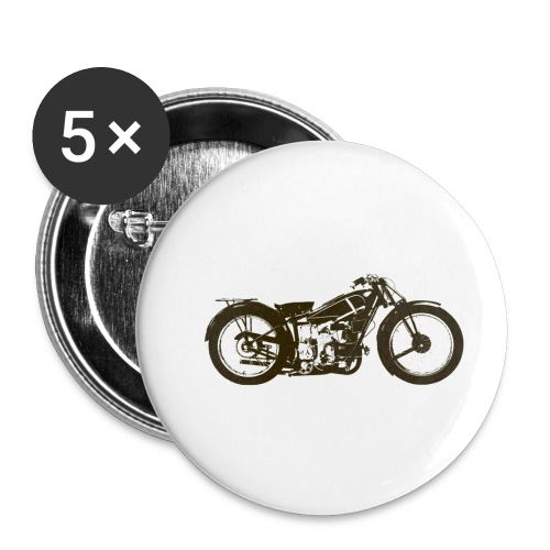 Classic Cafe Racer - Buttons small 1''/25 mm (5-pack)