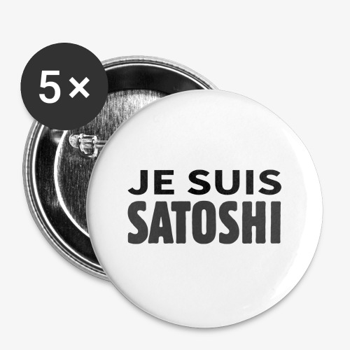 HODL-jesuis-b - Buttons small 1''/25 mm (5-pack)