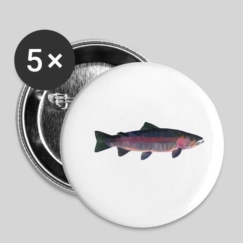 Trout - Rintamerkit pienet 25 mm (5kpl pakkauksessa)