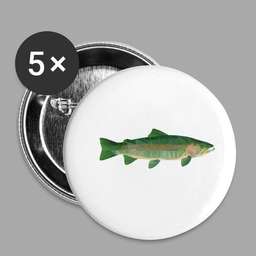 Mystical Trout - Rintamerkit pienet 25 mm (5kpl pakkauksessa)
