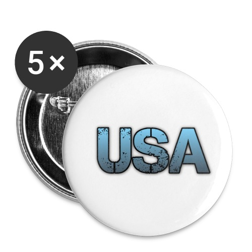 usa/estados unidos - Paquete de 5 chapas pequeñas (25 mm)