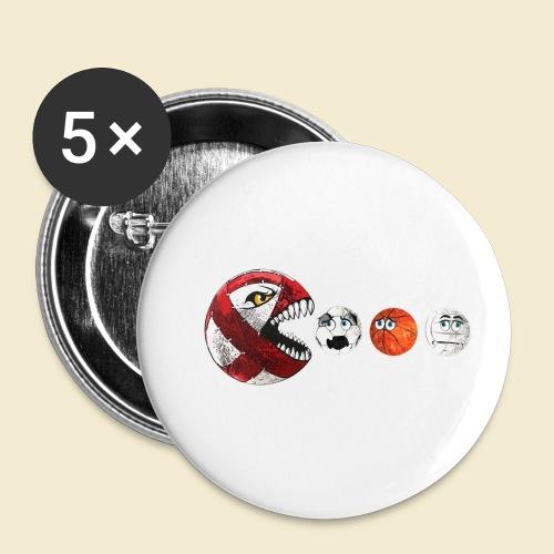 Radball | Cycle Ball RedMan - Buttons klein 25 mm