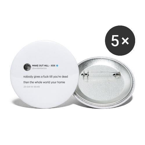 XXXTENTACION TWEET - Buttons klein 25 mm (5-pack)