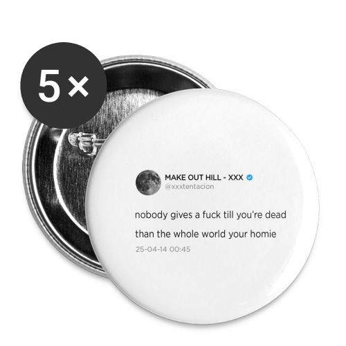 XXXTENTACION TWEET - Buttons klein 25 mm