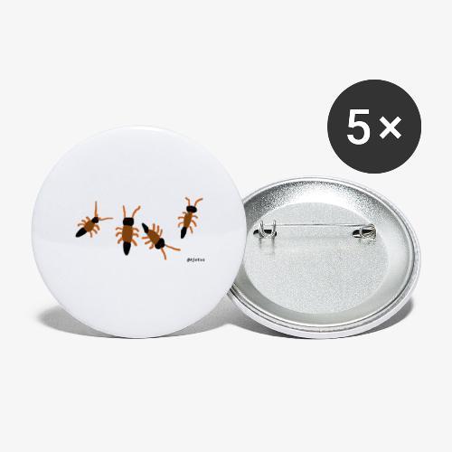 otokat - Rintamerkit pienet 25 mm (5kpl pakkauksessa)