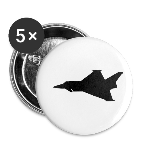 EF2000 Typhoon - Buttons small 1''/25 mm (5-pack)