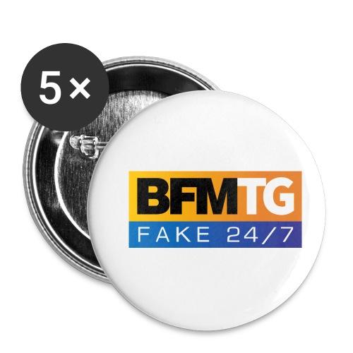 BFMTG - Lot de 5 petits badges (25 mm)
