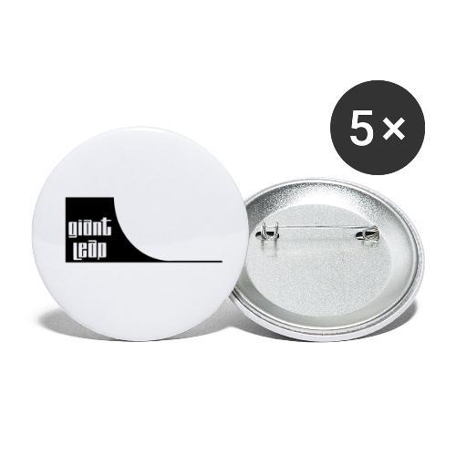 quartepipe - Buttons klein 25 mm (5er Pack)
