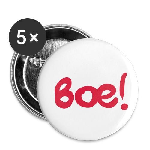 Boe Spruch - Buttons klein 25 mm (5er Pack)