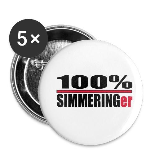 wien, simmeringer - Buttons klein 25 mm (5er Pack)