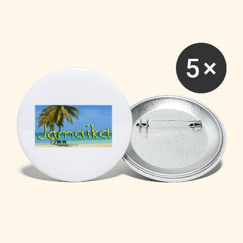 JAMAIKA - Buttons klein 25 mm (5er Pack)