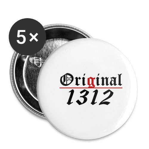 of modern style - Buttons klein 25 mm (5er Pack)