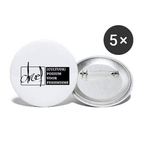 Droef Cultuurpodium - Buttons klein 25 mm (5-pack)