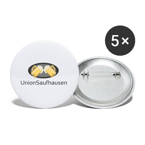 UnionSuffhausenMerch - Buttons klein 25 mm (5er Pack)
