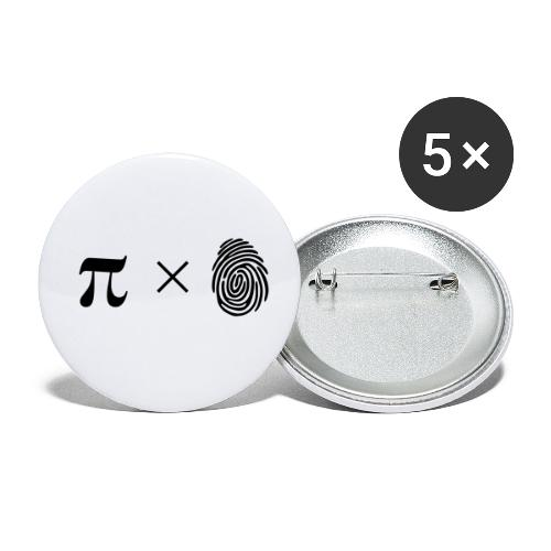 pimaldaumen - Buttons klein 25 mm (5er Pack)