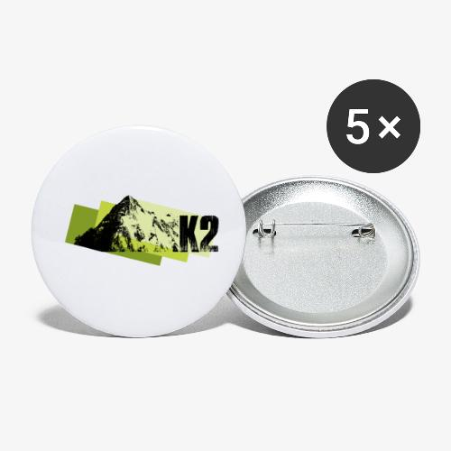 K2 - Buttons small 1''/25 mm (5-pack)