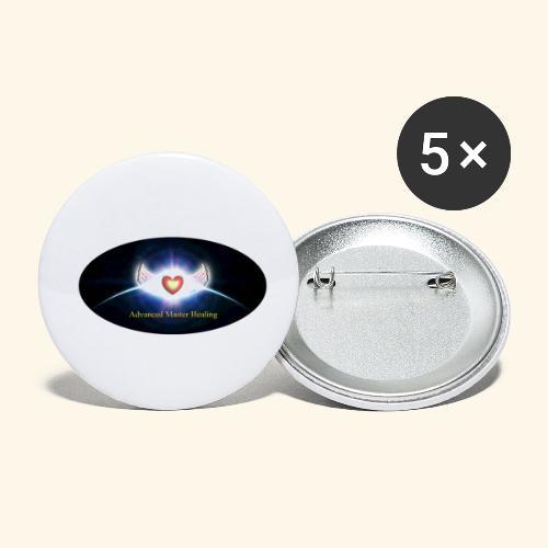 AMH Symbol - Buttons klein 25 mm (5er Pack)