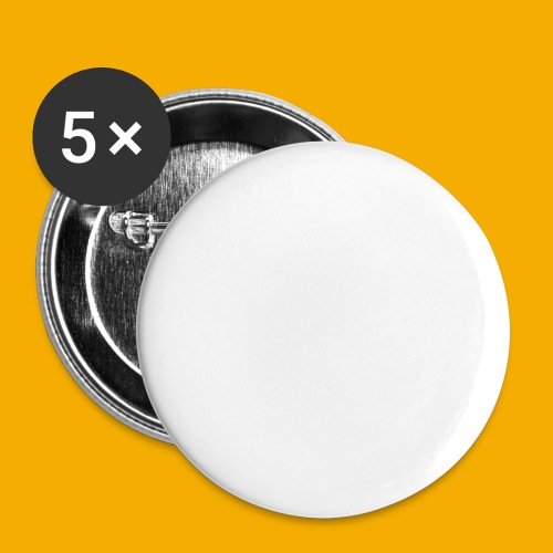 bmtnr wht 01 - Buttons klein 25 mm (5-pack)
