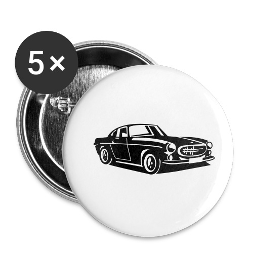 Volvo P1800 The Saint - Buttons klein 25 mm (5er Pack)
