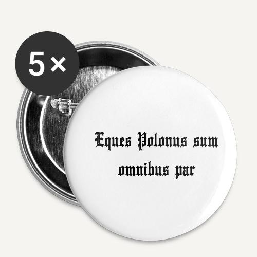 equespolonus - Przypinka mała 25 mm (pakiet 5 szt.)